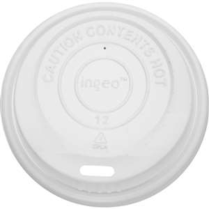 KARAT C-KDL508 Sipper Dome Lid for 8 oz Hot Cups