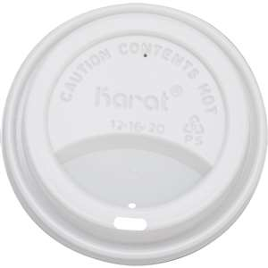 KARAT C-KDL516 Sipper Dome Lid for 10~24 oz Hot Cups