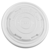 Karat Earth 12-16oz Compostable Paper Food Container Flat Lids (114.6mm) - 500 Lids Per Case