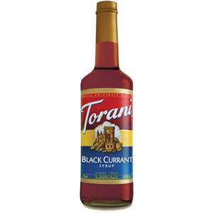 Torani G-BLACKCURRANT Black Currant (Cassis) Syrup 750ml