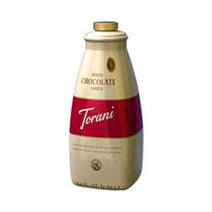 Torani G-CHOCOLATE-WMS White Chocolate Sauce 64oz