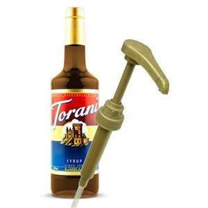 Torani G-PUMPSYR Syrup Pump (design for bottles) 750ml