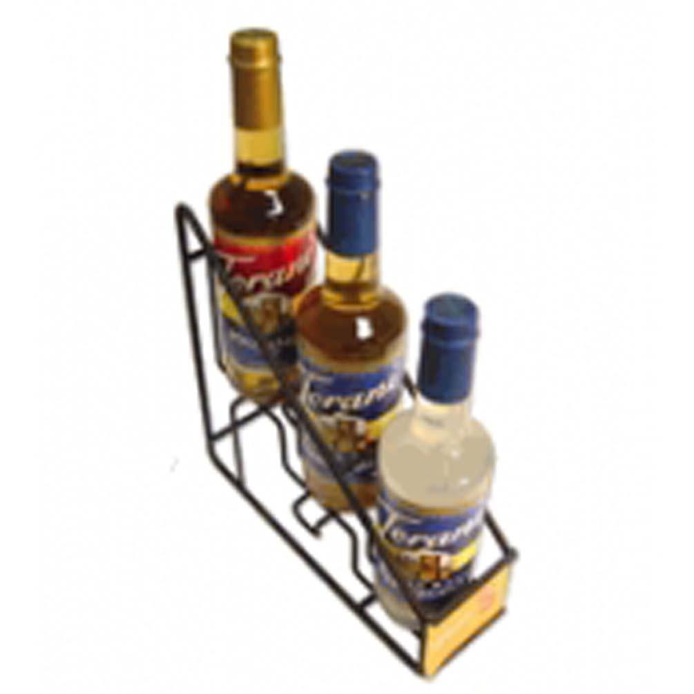 Torani G Wirerack3 Coffee Syrup Wire Rack 3 750ml Bottle