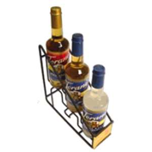 Torani G-WIRERACK3 Coffee Syrup Wire Rack 3-750ml bottle rack