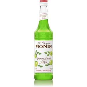 Monin H-APPLE-GRANNYSMITH Apple Granny Smith Syrup 750ml