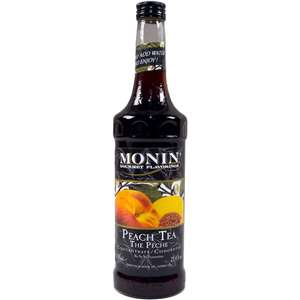 Monin H-PEACHTEA Peach Tea Concentrate 750ml