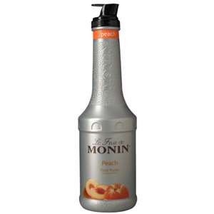 Monin H-PUREE-PEACH Peach Fruit Puree
