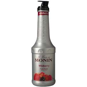 Monin H-PUREE-WILDBERRY Wildberry Fruit Puree