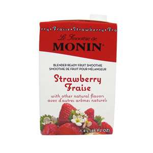 Monin H-SMOOTHIE-STRAWBERRY Strawberry Smoothie