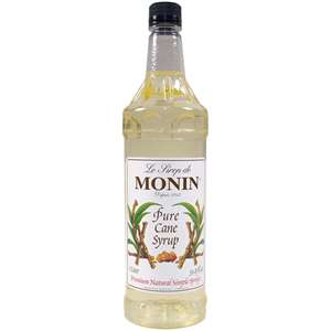 Monin H-SWEETNER-PURECANE-1L Pure Cane Sweetener 1 Liter (33.8oz)