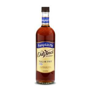 Da Vinci K-PUMPKIN-PIE-SF Sugar Free Pumpkin Pie Syrup 750ml