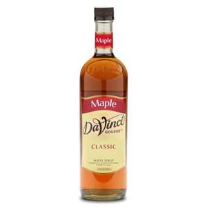 Da Vinci K-SWEETENER-MAPLE Maple Sweetener Syrup 750ml