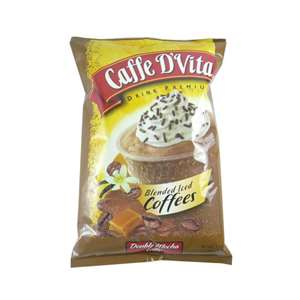 Caffe D'Vita P7001 BLENDED ICED Coffee Double Mocha Latte