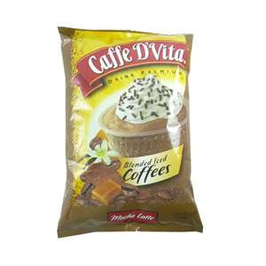 Caffe D'Vita P7002 BLENDED ICED Coffee Mocha Latte