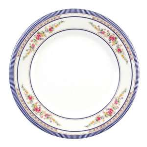 "Thunder Group 12 5 / 8"" Plate, Rose, 1 Dozen, THUND-1013AR"