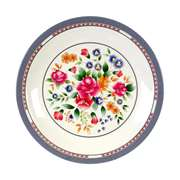 "Thunder Group 14 3 / 8"" Plate, Rose, 1 Dozen, THUND-1015AR"