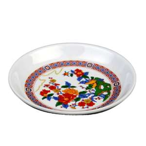 "Thunder Group 2 oz, 3 1 / 2"" Sauce Dish, Peacock, 5 Dozen, THUND-102.8TP"