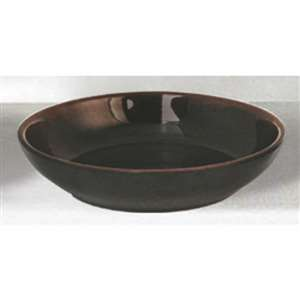 "Thunder Group 9 oz, 5 1 / 2"" Bowl (Flat), Tenmoku, 1 Dozen, THUND-3955TM"