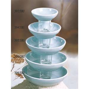 "Thunder Group 15 oz, 6 1 /  / 2"" Bowl, Blue Jade, 1 Dozen, THUND-3965"