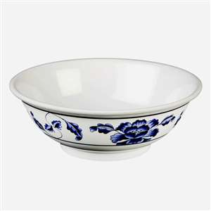 "Thunder Group 22 oz, 6 7 / 8"" Rimless Bowl, Lotus, 1 Dozen, THUND-5060TB"