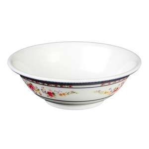 "Thunder Group 24 oz, 7"" Deep Bowl, Rose, 1 Dozen, THUND-5107AR"