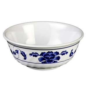 "Thunder Group 21 oz, 6"" Swirl Bowl, Lotus, 1 Dozen, THUND-5306TB"