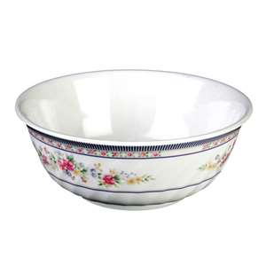 "Thunder Group 72 oz, 9"" Swirl Bowl, Rose, 1 Dozen, THUND-5309AR"