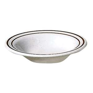 "Thunder Group 10 oz, 6 1 / 4"" Salad Bowl, Arcadia, 1 Dozen, THUND-AD306AA"