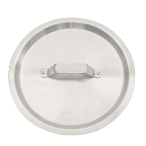 Thunder Group 12 Qt Aluminum Stock Pot Lid, 1 Each, THUND-ALSKSP102