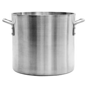 Thunder Group 50 Qt Aluminum Stock Pot, 6mm Heavy Duty, 1 Each, THUND-ALSKSP608