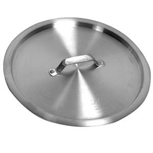 Thunder Group 4 1 / 2 Qt Aluminum Sauce Pan Lid, 1 Each, THUND-ALSKSS104