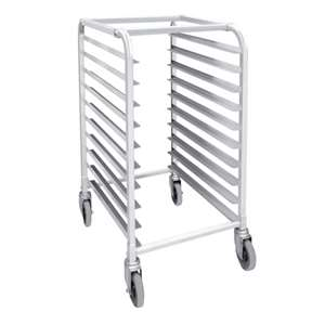 Thunder Group ALSPR010 10-Tier Pan Rack With 4 X Casters