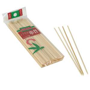 "Thunder Group 8"" Bamboo Skewers, 30 Bag, THUND-BAST008"