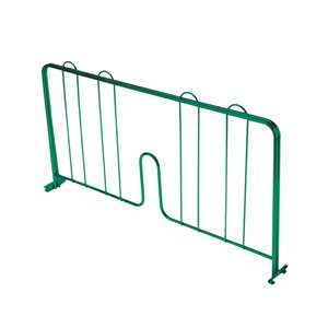 Thunder Group CMDE014 Pressure-Fit Shelf Divider For Green Epoxy Shelving