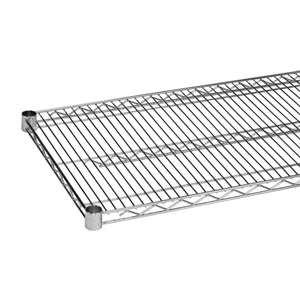Thunder Group CMSV2124 Chrome Wire Shelving