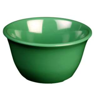 "Thunder Group 7 oz, 4"" Bouillon Cup, Green, 1 Dozen, THUND-CR303GR"