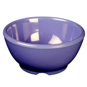 "Thunder Group 10 oz, 4 5 / 8"" Soup Bowl, Purple, 1 Dozen, THUND-CR5804BU"