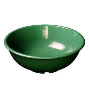 "Thunder Group 32 oz, 7 1 / 2"" Salad Bowl, Green, 1 Dozen, THUND-CR5807GR"