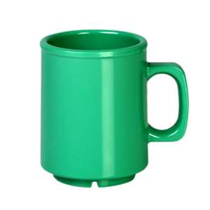 Thunder Group 8 oz Mug, Green, 1 Dozen, THUND-CR9010GR