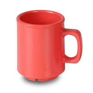 Thunder Group 8 oz Mug, Orange, 1 Dozen, THUND-CR9010RD