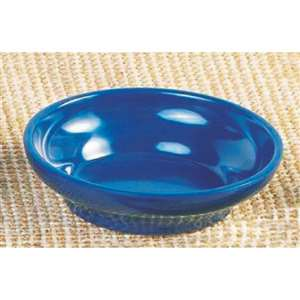 "Thunder Group 4 1 / 2 oz, 4"" Salsa Dish, Cobalt Blue, 1 Dozen, THUND-ML351CB"
