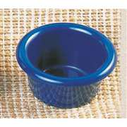 "Thunder Group 1 1 / 2 oz, 2 1 / 2"" Smooth Ramekin, Cobalt Blue, 6 Dozen, THUND-ML534CB"