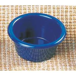 "Thunder Group 2 oz, 2 1 / 2"" Smooth Ramekin, Cobalt Blue, 4 Dozen, THUND-ML535CB"