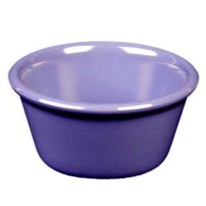 "Thunder Group 4 oz, 3 3 / 8"" Smooth Ramekin, Purple, 4 Dozen, THUND-ML538BU"