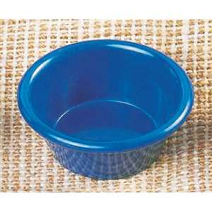 "Thunder Group 4 oz, 3 3 / 8"" Smooth Ramekin, Cobalt Blue, 4 Dozen, THUND-ML538CB"