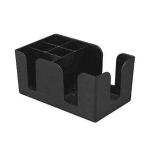 Thunder Group Plastic Bar Caddy 6 Compartment, 1 Each, THUND-PLBC006