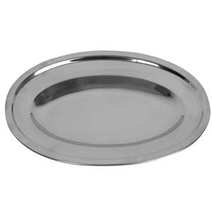 "Thunder Group 22"" Oval Platter, 18 Each, THUND-SLOP022"
