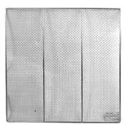 "Thunder Group 19"" Square Donut Screens, Stainless Steel, 12 Each, THUND-SLRACK0019"