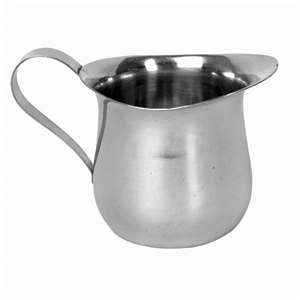 Thunder Group 8 oz Stainless Bell Creamer, 12 Each, THUND-SLRBC003