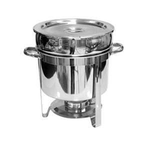 Thunder Group 11 Qt Marmite Chafer, Stainless Steel, 1 Each, THUND-SLRCF8311